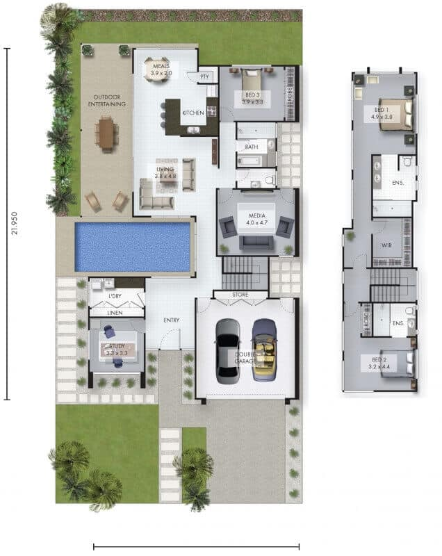 Modena david reid homes for David homes floor plans