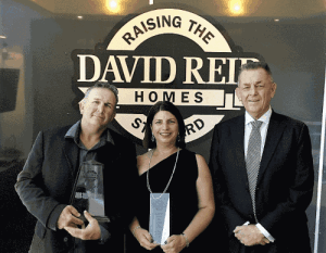David Reid Homes Franchisee of the Year 2016