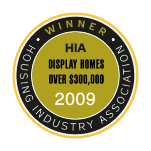 HIA Winner Display Homes Over 300000