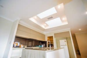 custom home builders Hervey Bay Display Home kitchen