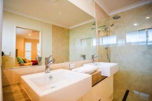 custom home builders Hervey Bay Display Home bathroom