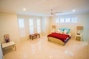 custom home builders Hervey Bay Display Home bedroom