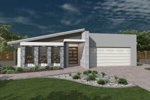 David Reid Homes dawson house 3D render