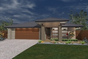 David Reid Homes fitzroy house 3D render