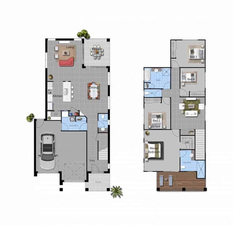 David Reid Homes Corella House floor plan