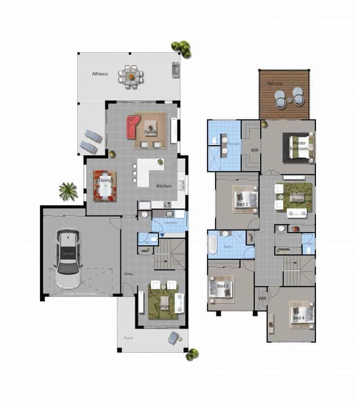 David Reid Homes Headley floor plan