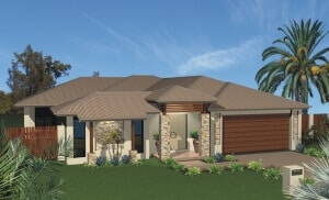 custom home Goulburn 3D Render