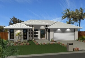 David Reid Homes custom home Lachlan 3D render