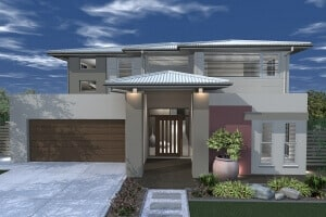 David Reid Homes Mackay house 3D render