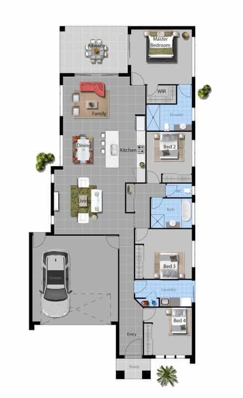 David Reid Homes Macquarie floor plan