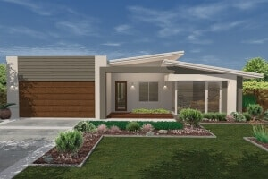 David Reid Homes Molonglo house facade view