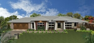 David Reid Homes Murrumbidgee house 3D render