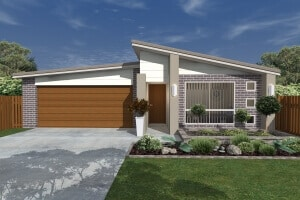 David Reid Homes Tumut house 3D render