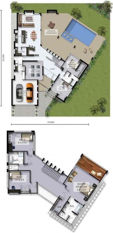 David Reid Homes Alpine house floor plan