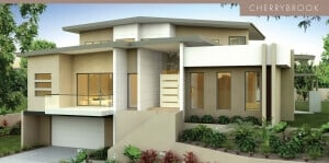 David Reid Homes Luxury home Cherrybrook facade view