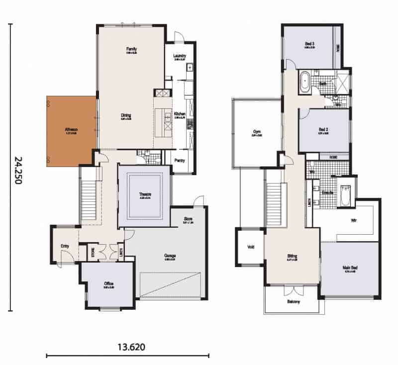 coogee house floor plan