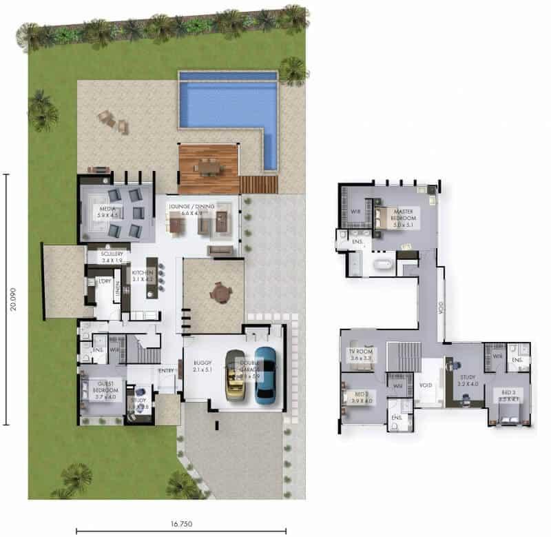 David Reid Homes Kingsgate Floor Plan