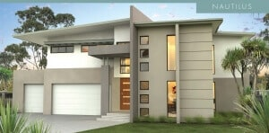 David Reid Homes Nautilus facade view
