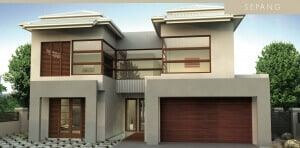 David Reid Homes Sepang House facade view