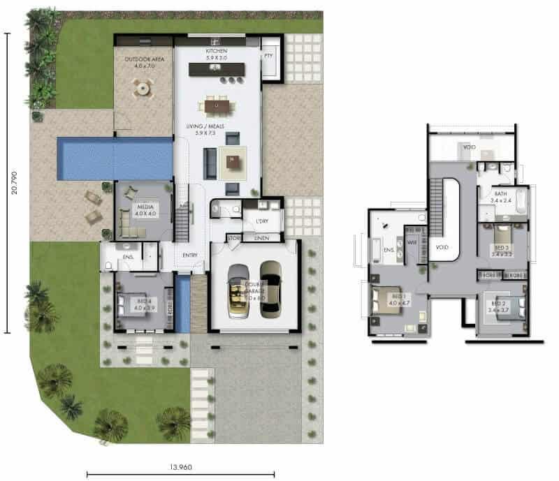 David Reid Homes Sepang house floor plan
