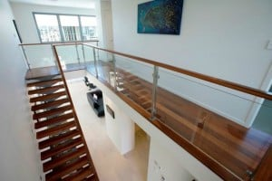 David Reid Homes Sepang house stairway entry