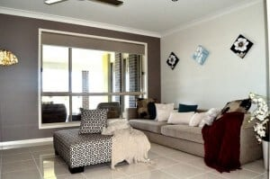 David Reid Homes Lachlan Lounge area