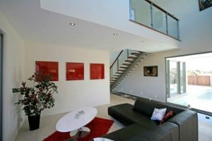 David Reid Homes custom home Sepang Living room