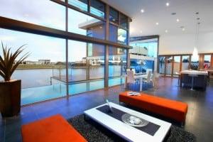 luxury home Baja living room