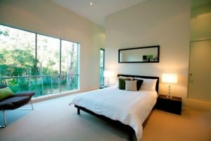 WoodSong Luxury Home Design Master Bedroom