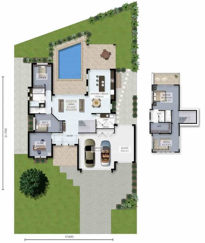 David Reid Homes ascot floor plan