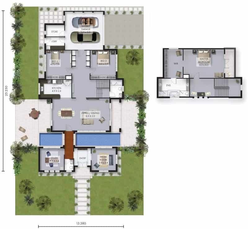 brookland house floor plan