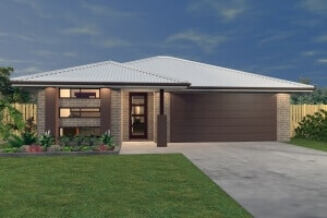 David Reid Homes Queanbeyan house plan 3D model