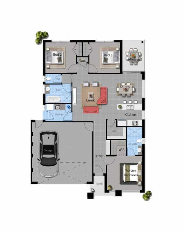 David Reid Homes Tabitha Modern House floor plan