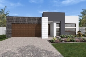 tabitha house plan perspective front view