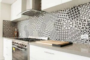 Shepparton luxury display home splash back