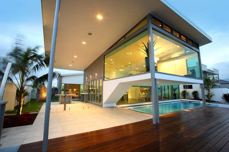 David Reid Homes display home outdoor