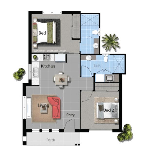 David Reid Homes Parker Modern House Plan