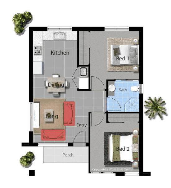 David Reid Homes Pisasale Modern Floor Plan