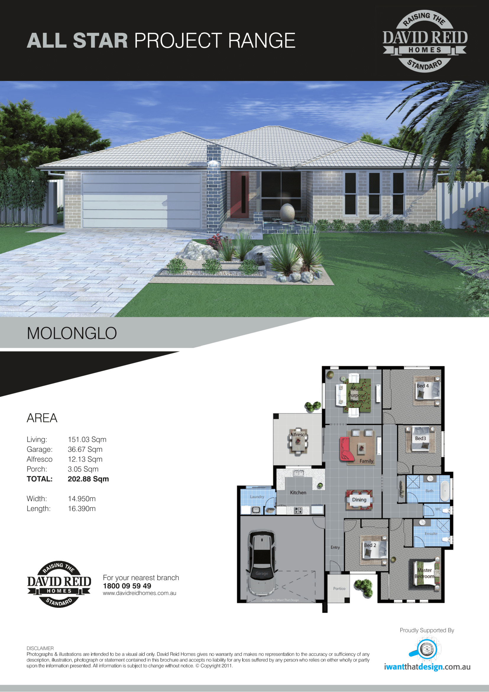 Clinton House and Land Package Molonglo house specification