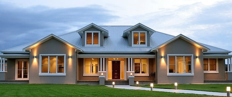 front custom home builders New England - David Reid Homes Australasia