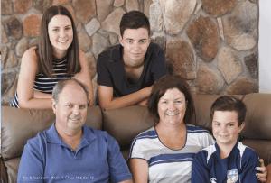 sloping block myler family