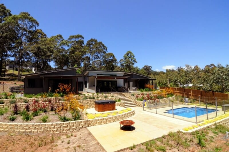 Landscaping Custom Home Builders South Coast - David Reid Homes Australia