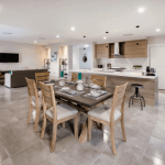 David Reid Homes Tamworth Display Homes dining