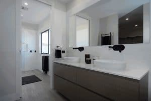 David Reid Homes Canberra sample bathroom