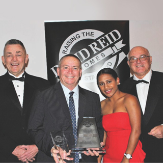 David Reid Homes Franchisee of the Year 2017