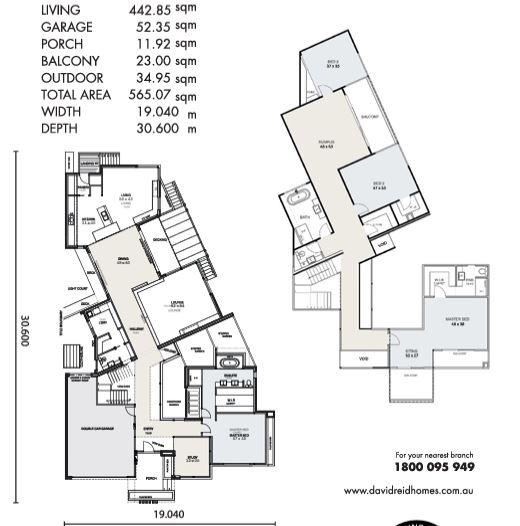 floor plans, David Reid Homes